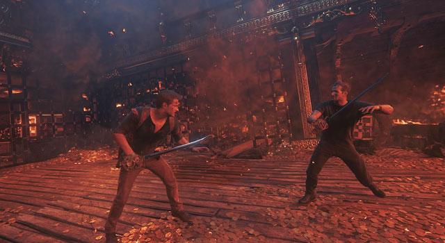 Uncharted 4 Boss Battle