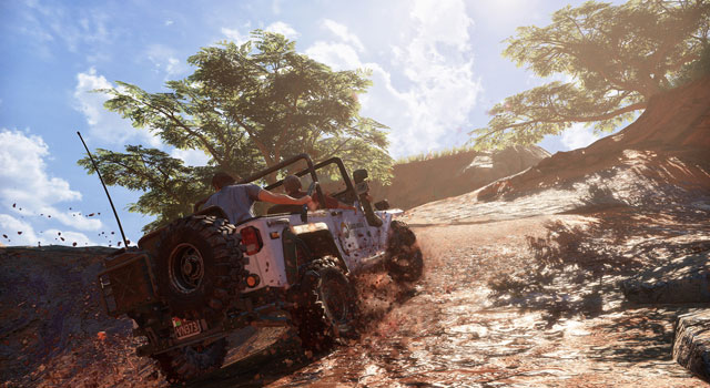 Uncharted 4 Driving Parts