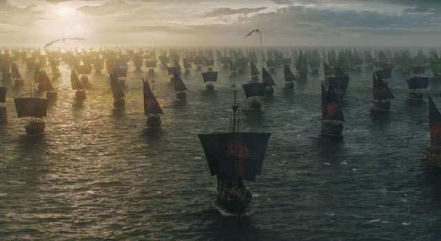 Game of Thrones Invasion Fleet