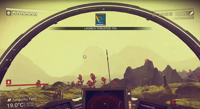 No Man's Sky Launch Thrusters