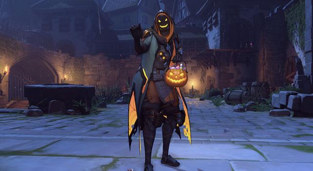 Overwatch's Halloween Ana