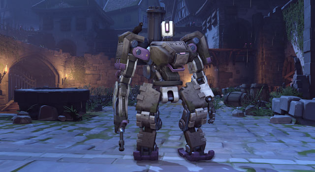 Overwatch's Halloween Bastion