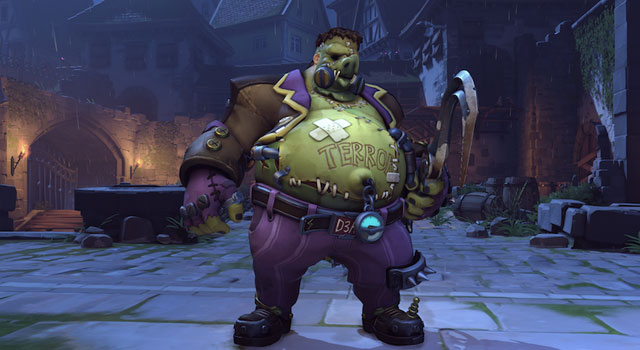 Overwatch's Halloween Roadhog