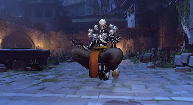 Overwatch's Halloween Zenyatta