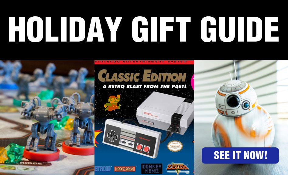 2016 Holiday Gift Guide for Geeks