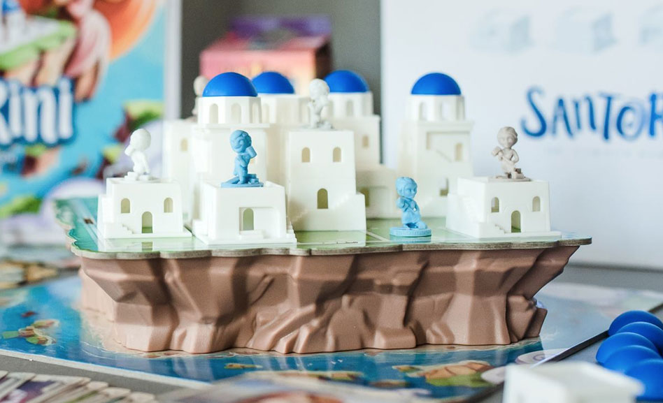 Santorini Game Play
