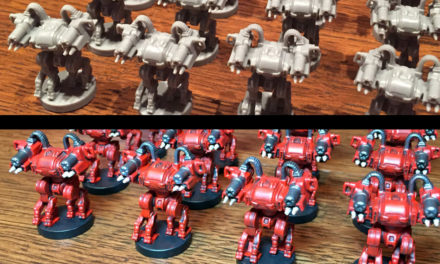 How to Quickly Paint Board Game Miniatures