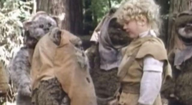 Ewoks Battle for Endor