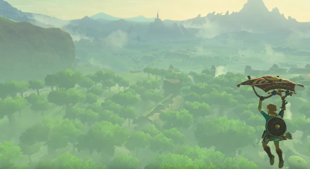 Breath of the Wild Hang Glider