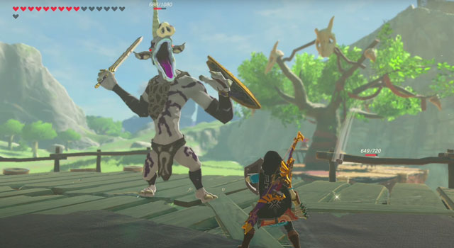 Breath of the Wild Monsters
