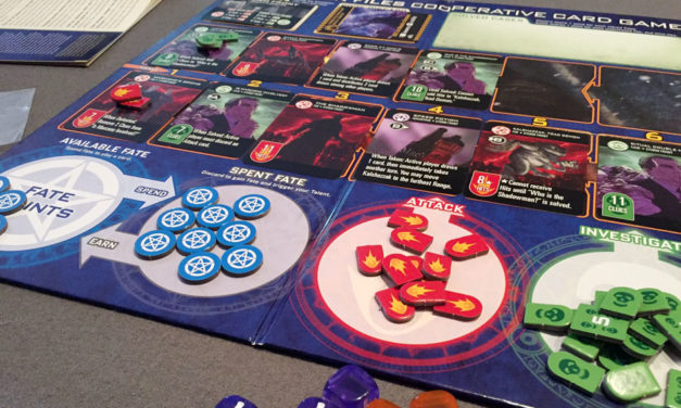 The Dresden Files Cooperative Card Game – Game of the Week