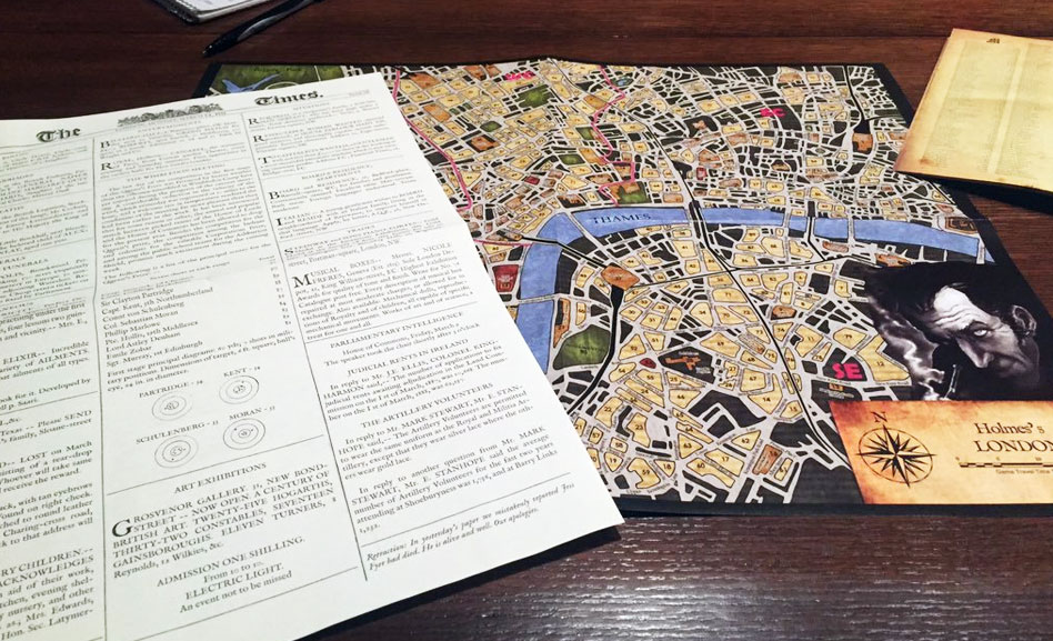 Sherlock Holmes Consulting Detective – Game of the Week