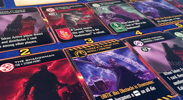 Dresden files Card Game